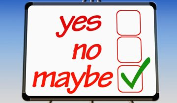 yes no maybe checklist