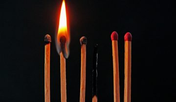burned out matches exhausted